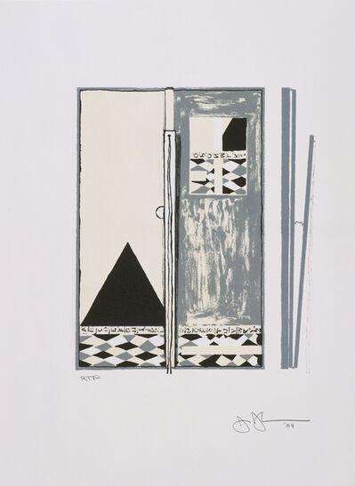 Jasper Johns, 'Pyre 2', 2004