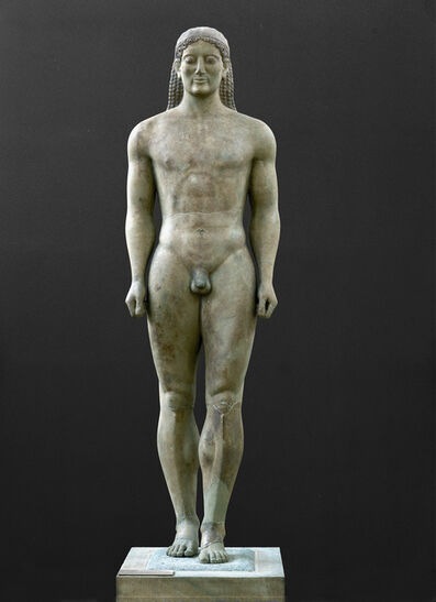 'Statue of a Kouros', 6th century B.C.