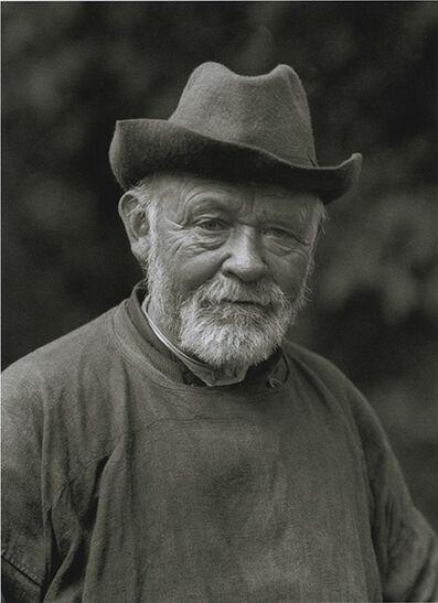 August Sander, 'The Wise One, Shepherd', 1913