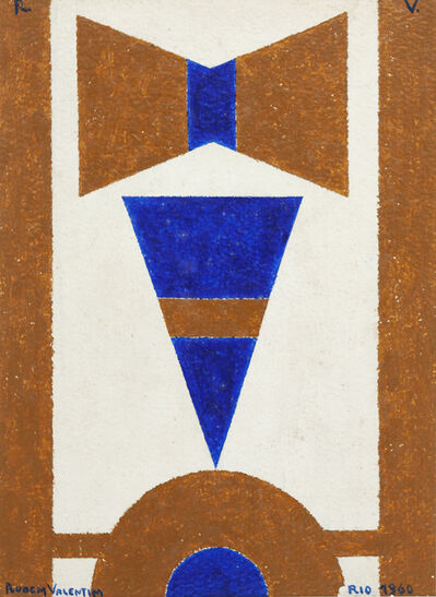 Rubem Valentim, 'Untitled', 1960