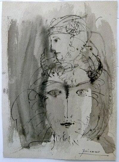 Pablo Picasso, 'Femme a 2 faces', ca. 1962