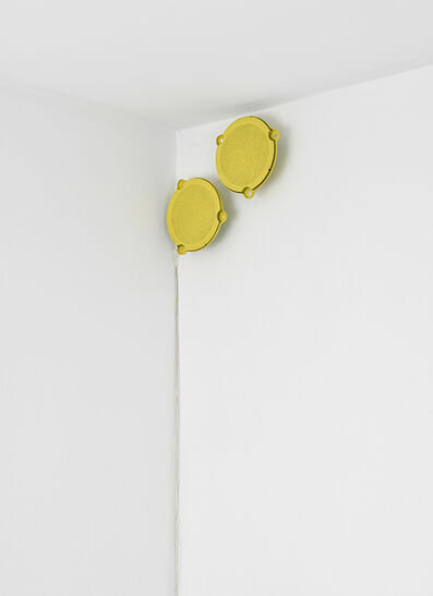 Rolf Julius, 'Yellow Music Spot', 1984