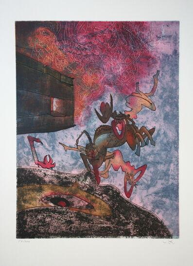 "Roberto Matta, 'Hom'mere Chaosmos ""Ancien victorieux je te morphose""', 1975"