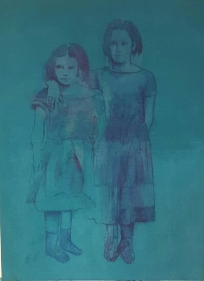 Shahram Karimi, 'Two Children', 2015