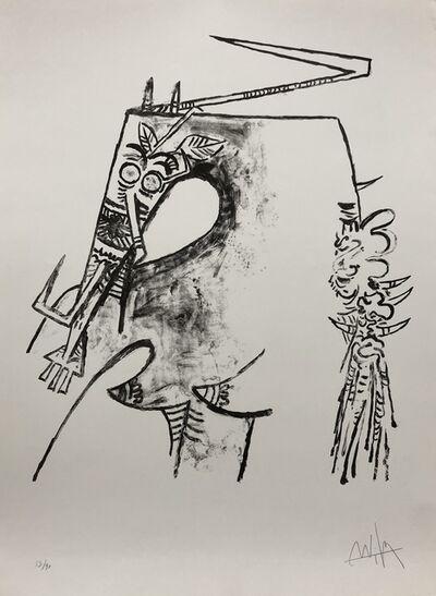 "Wifredo Lam, '""Figure blanche""', 1975"