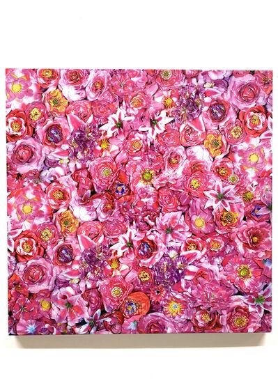 Tetsutaro Kamatani, 'PROLIFERATION- FLOWER PINK', 2020
