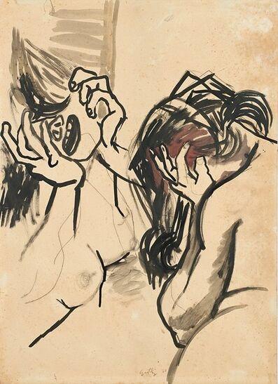 Renato Guttuso, 'Donne che piangono', 1940