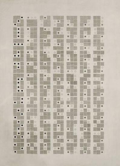 Gego, 'Almanaque 69 [Calendar 69]', 1974
