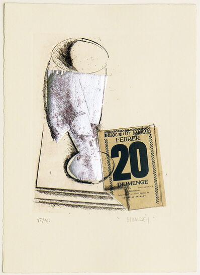 Manolo Valdés, 'Still Life V', 1986