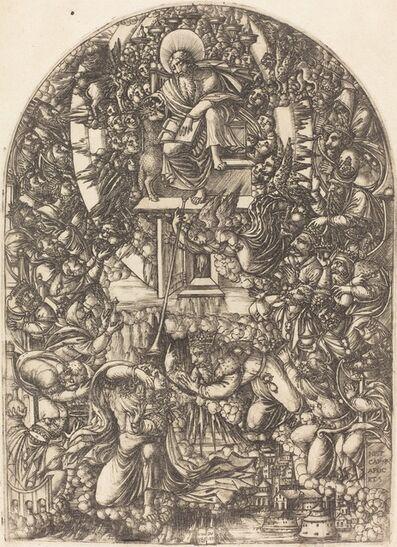 Jean Duvet, 'Saint John Summoned to Heaven', 1546/1556