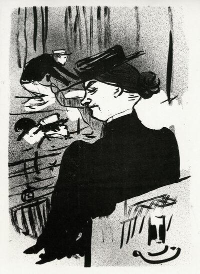 Henri de Toulouse-Lautrec, 'Une Spectatrice', 1893