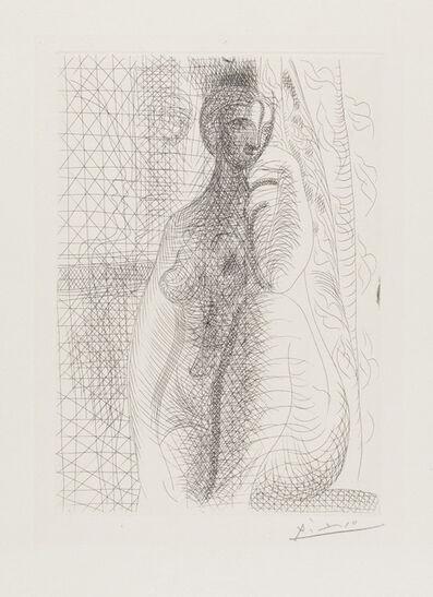 Pablo Picasso, 'Femme nue à la jambe pliée', July 9-1931