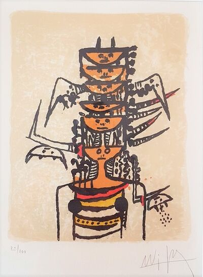 Wifredo Lam, 'Composition for Redfern Galleries', 1979
