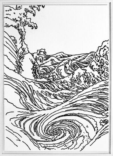 Xavi Muñoz, 'Sin título (Hokusai Black)', 2017