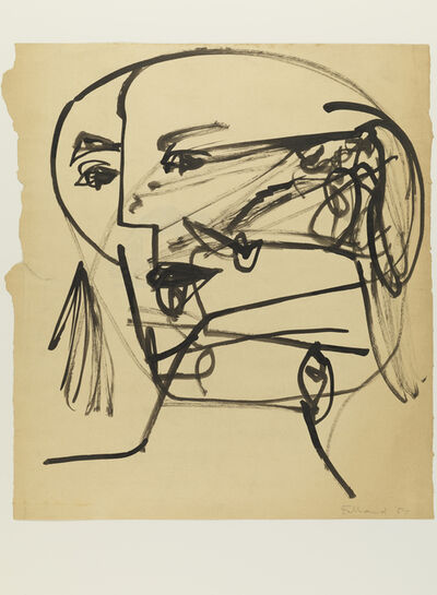 George Fullard, 'Head', 1957