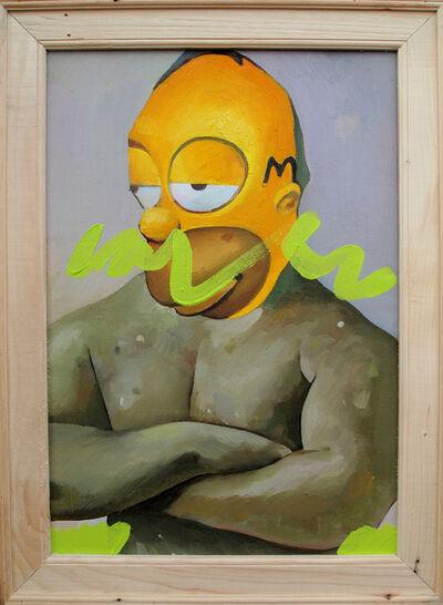 Geng Yini 耿旖旎, 'Simpson the Boxing Champion', 2015