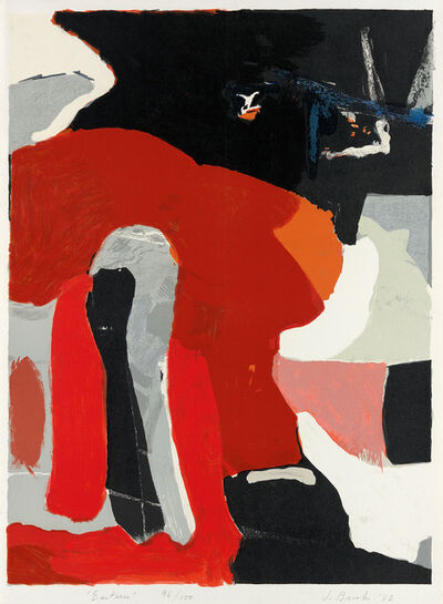 James Brooks (1906-1992), 'Eastern', 1982