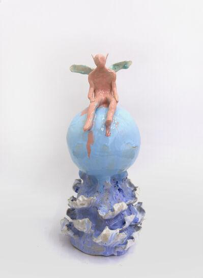 Klara Lilja, 'Fairy on A Soap Bubble in The Ocean', 2019