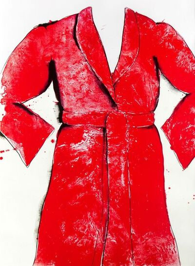 Jim Dine, 'Red Bathrobe', 1969