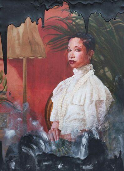 Ajamu Kojo, 'Black Blood, No. 3: In the spirit of Mary Elizabeth Jone Parris, Published Author', 2017