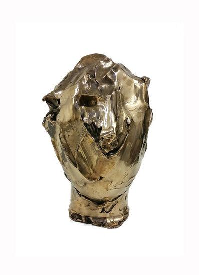 Vanessa Beecroft, 'Bronze head (gold patina) vb.b.006', 2014