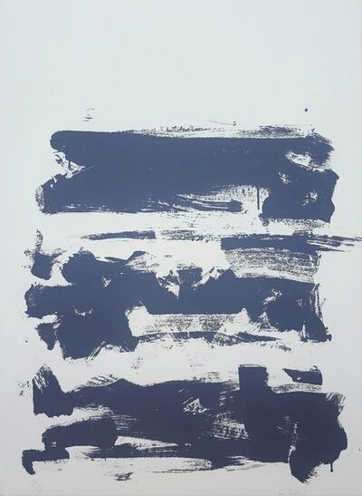 Joan Mitchell, 'Champs (Grey)', 1991-1992