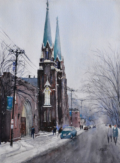 Judy Mudd, 'Twin Steeples', 2018