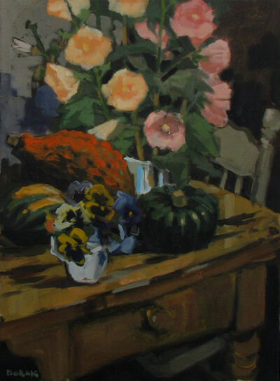 Bruno Bobak, 'Still Life with Squash', ca. 1960-1970