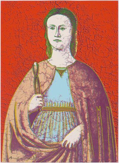 Andy Warhol, 'Saint Apollonia', 1984