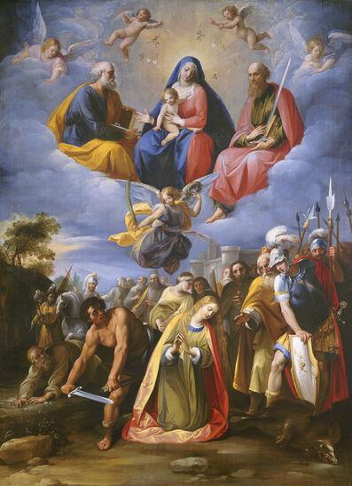 Giuseppe Cesari, called Cavaliere d'Arpino, 'Martyrdom of Saint Margaret', ca. 1608/1611