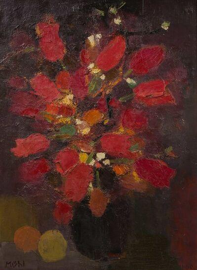Roger Muhl, 'Les tulipes rouges'