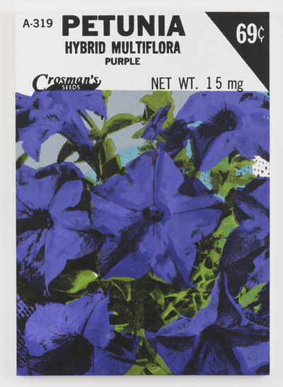 Lucien Smith, 'Petunia (Seed Packet)', 2021
