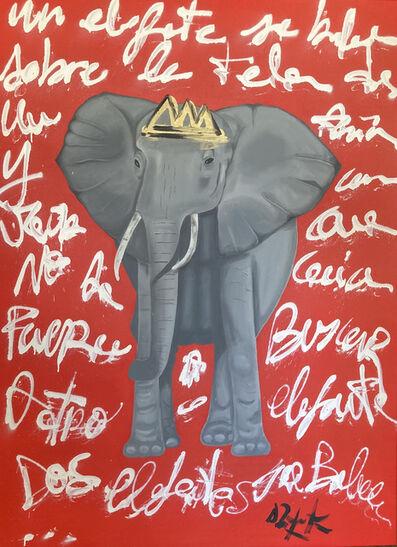 Domingo Zapata, 'Elephant ', 2021