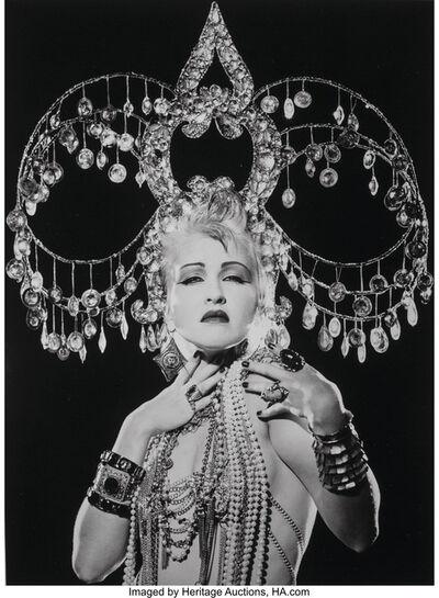 Matthew Rolston, 'Cyndi Lauper, Headdress, New York', 1986