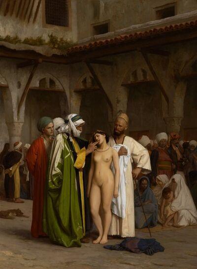 Jean-Léon Gérôme, 'Slave Market', 1866