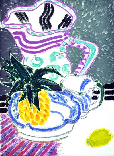 Robert Kushner, 'Pitcher and Pineapple III', 2018