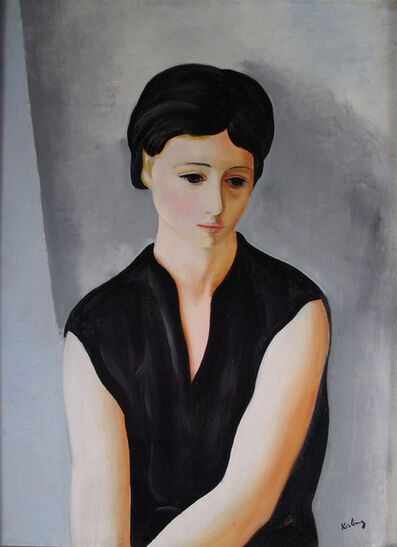 Moise Kisling, 'Portrait of a Lady'
