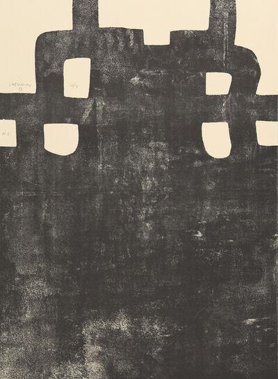 Eduardo Chillida, 'Gurutze Gorria III', 1984