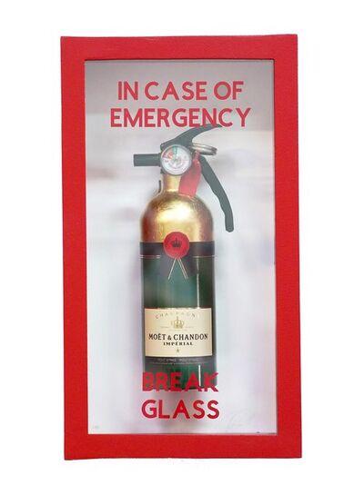 Plastic Jesus, 'In Case of Emergency Break Glass - Moët & Chandon', 2020