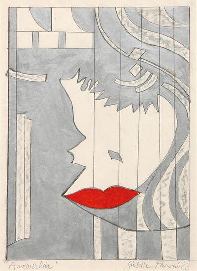 Giosetta Fioroni, 'Anomalia', 1966