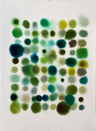 Lourdes Sanchez, '80 Dots, Mostly Green', 2020