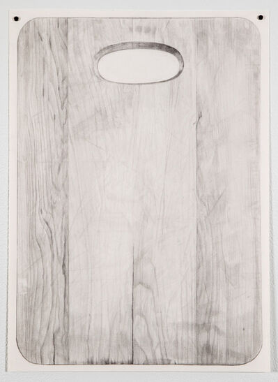 Juliet Jacobson, 'Untitled (Cutting Board #2 Recto)', 2017