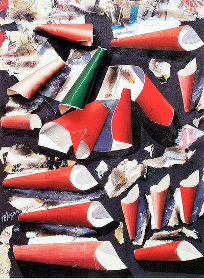 Burhan Dogançay, 'Cones in a Box', 1986