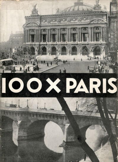 Germaine Krull, '100 x Paris', 1929