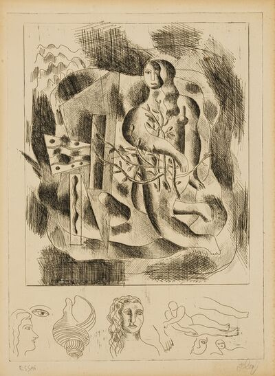 Fernand Léger, 'Nu au feuillage', circa 1931-32