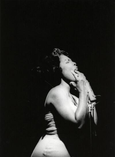 Adger Cowans, 'Gloria Lynne, Newport Jazz', 1961