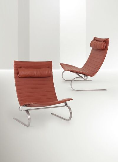 Poul Kjærholm, 'two armchairs, Denmark', ca. 1970