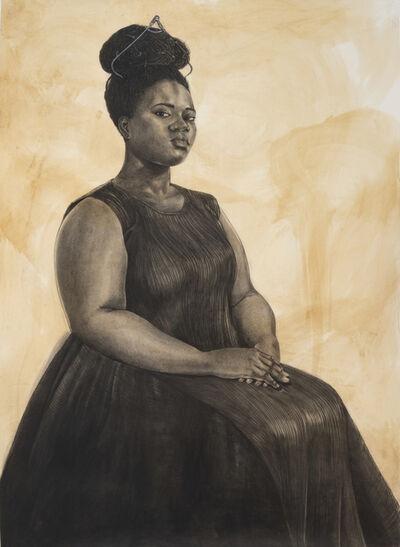Robert Pruitt, 'Woman with Tiara', 2019