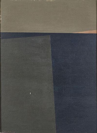 Helen Lundeberg, 'Dark Sea', 1960
