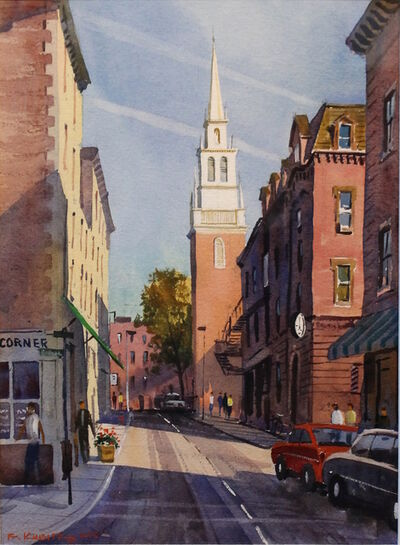 Frederick Kubitz, 'Old North Church, North End, Boston', 2015